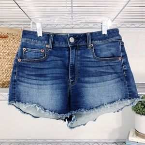 AMERICAN EAGLE | hi rise STRETCH festival shorts